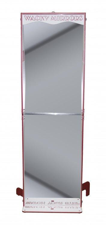 Wacky Red Mirror