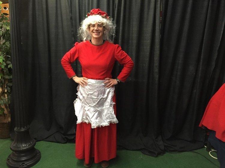 Mrs. Santa - Velour