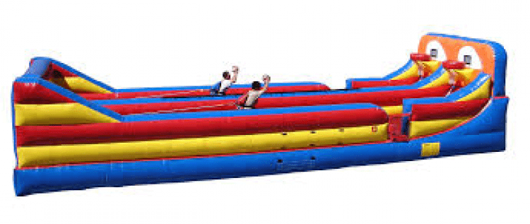 Bungee Run With Hoops