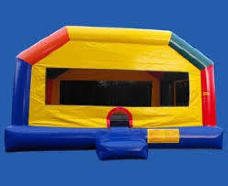 Large Funhouse Inflatable Bounce