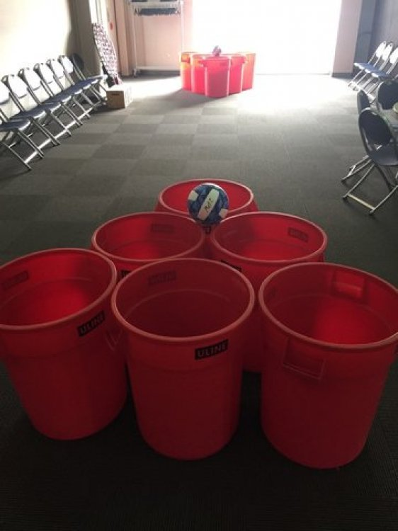 Giant Pong Game