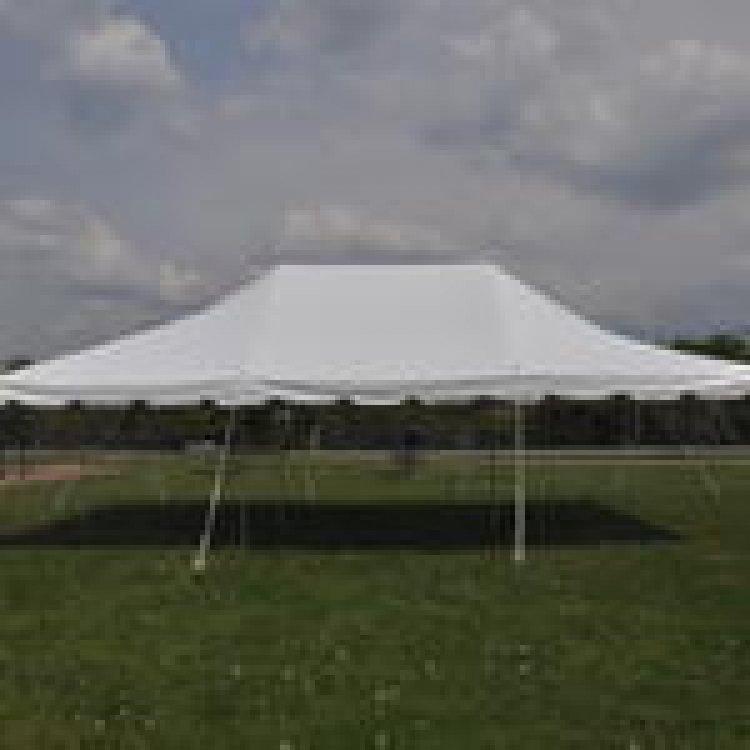 20 x 30 Pole Tent with set up