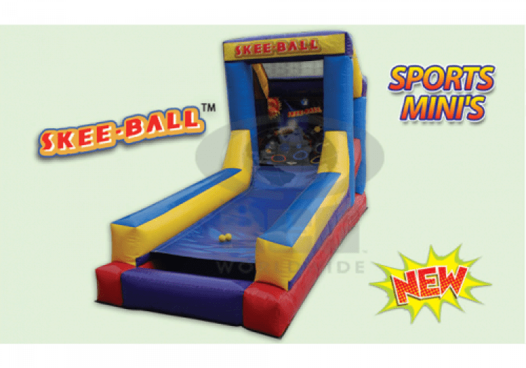 Skee-Ball Inflatable Game