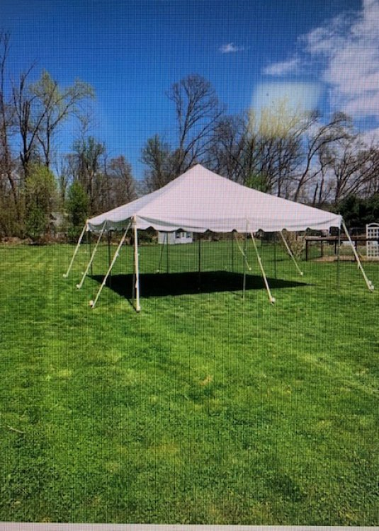 20 x 20 pole tent - customer pick up