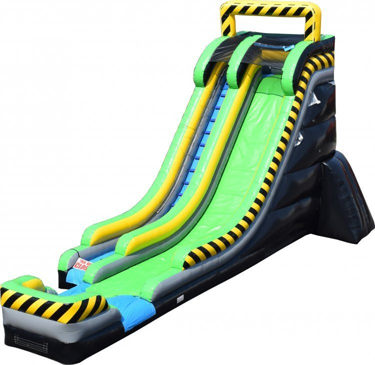 22' Caustic Water Slide