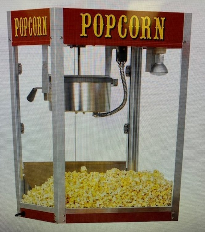 Popcorn Machine and Supplies
