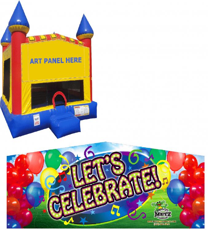 Let's Celebrate Castle Bounce NEW