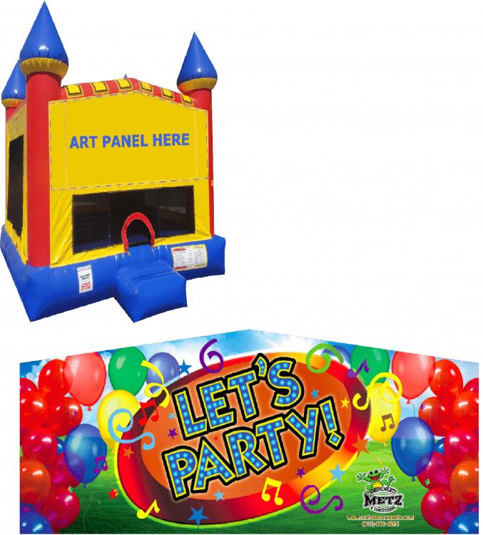 Let's Party Castle Bounce NEW