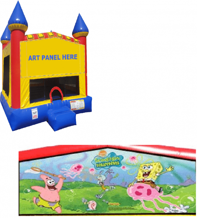 Sponge Bob Castle Bounce NEW