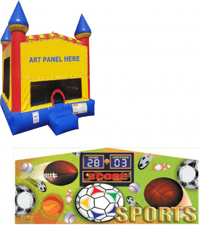 Sports Castle Bounce NEW