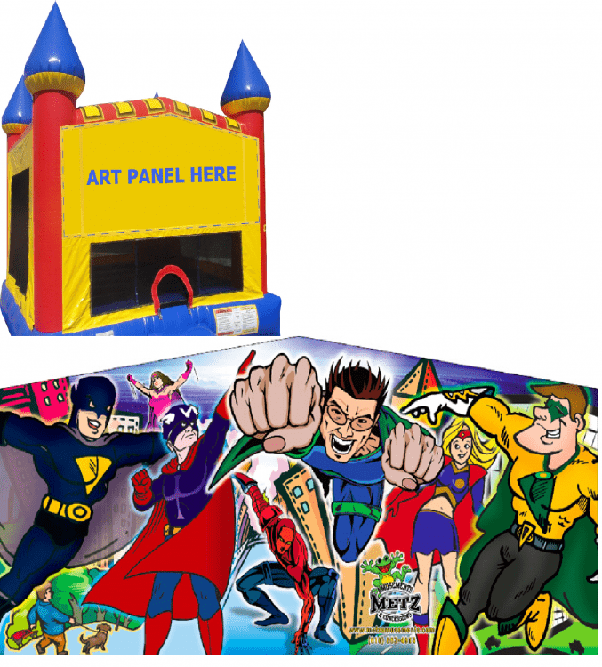 Superhero Castle Bounce NEW