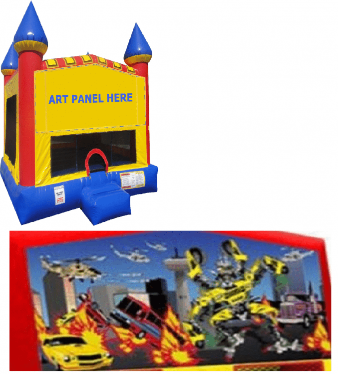 Transformers Castle Bounce NEW