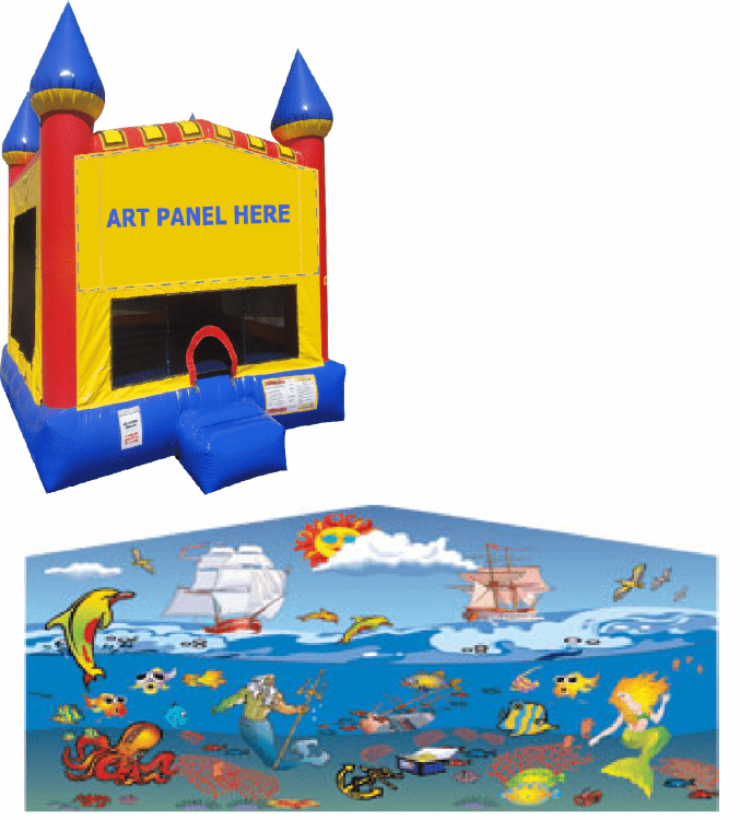 Under The Sea Castle Bounce NEW