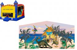 Dinosaur Castle Combo NEW