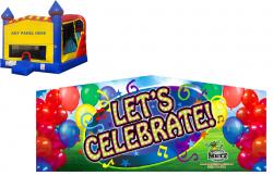 Let's Celebrate Castle Combo NEW