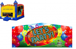 Let's Party Castle Combo NEW