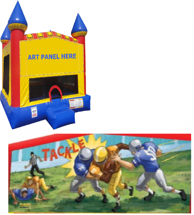 Football Castle Bounce NEW