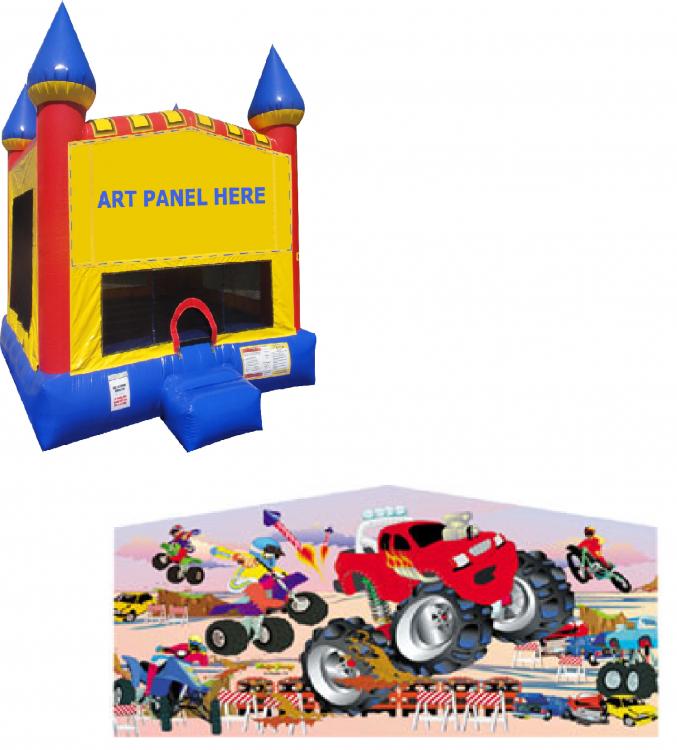 Monster Truck Castle Bounce NEW