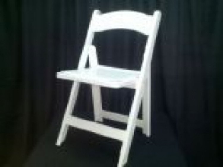 Padded White Chair