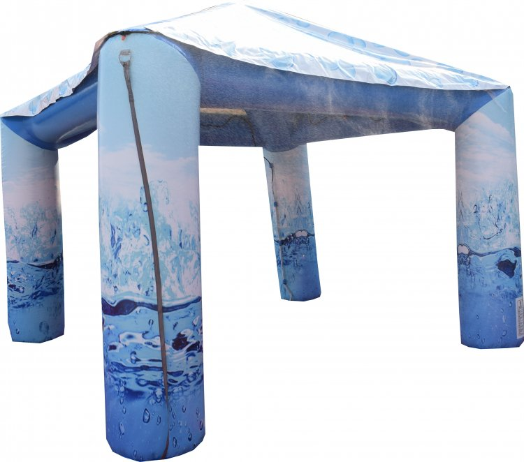 Inflatable Misting Tent