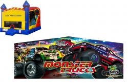Monster Truck Castle Combo NEW