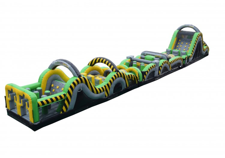 95' Radical Run Obstacle Course