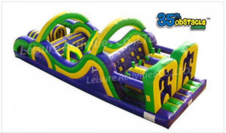 Slides, Obstacles, and Playlands