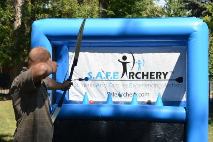 Archery Hoverball Inflatable Game
