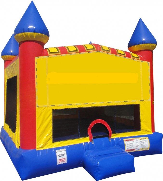 NO PANEL Castle Bounce NEW