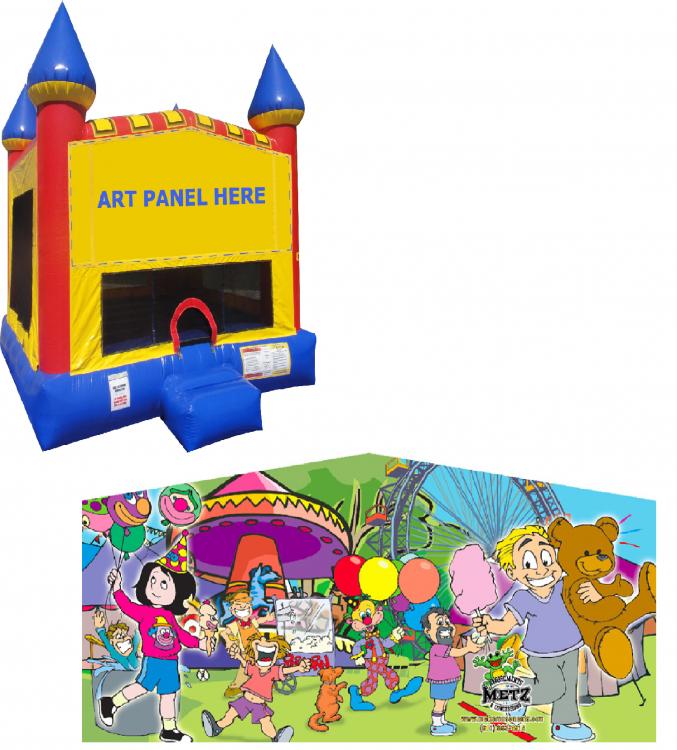 Carnival Castle Bounce NEW
