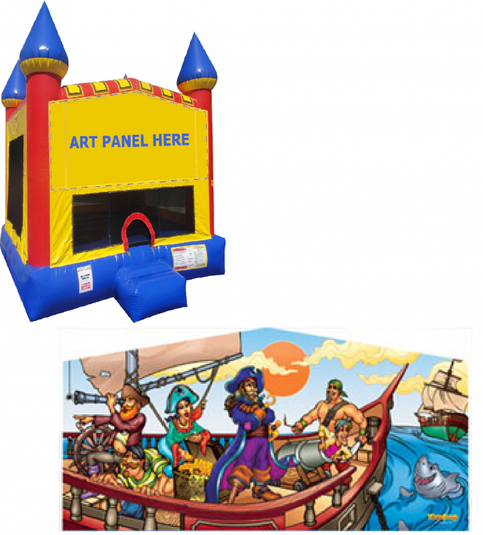 Pirate Castle Bounce NEW