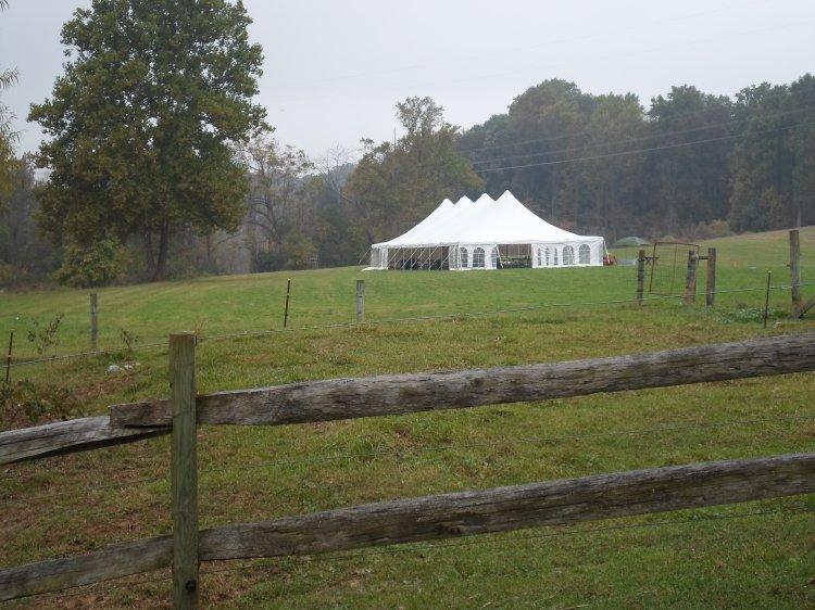 40 x 100 Tent