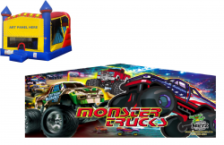 Monster Truck Castle Combo