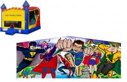 Superhero Castle Combo