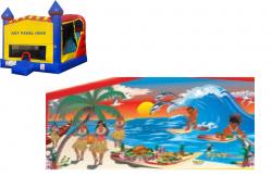 Tropical Paradise Castle Combo