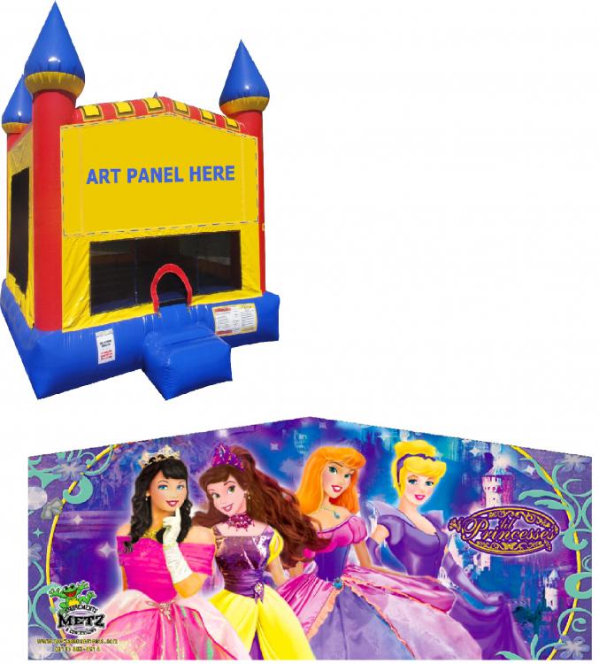 Princesses Castle Bounce